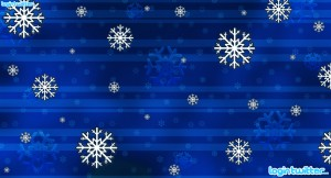 Snowflake Twitter Background