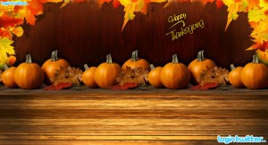 Thanksgiving Twitter Background